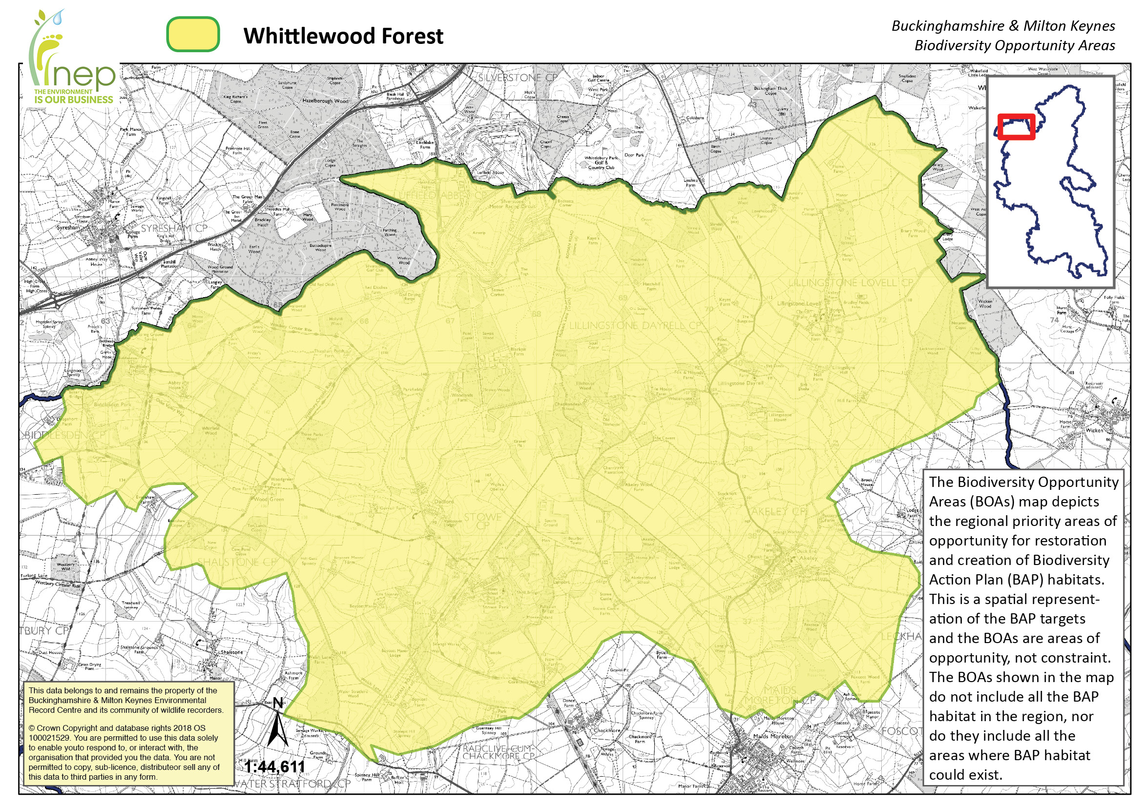Whittlewood Forest Biodiversity Opportunity Area Buckinghamshire and Milton Keynes Natural Environment Partnership