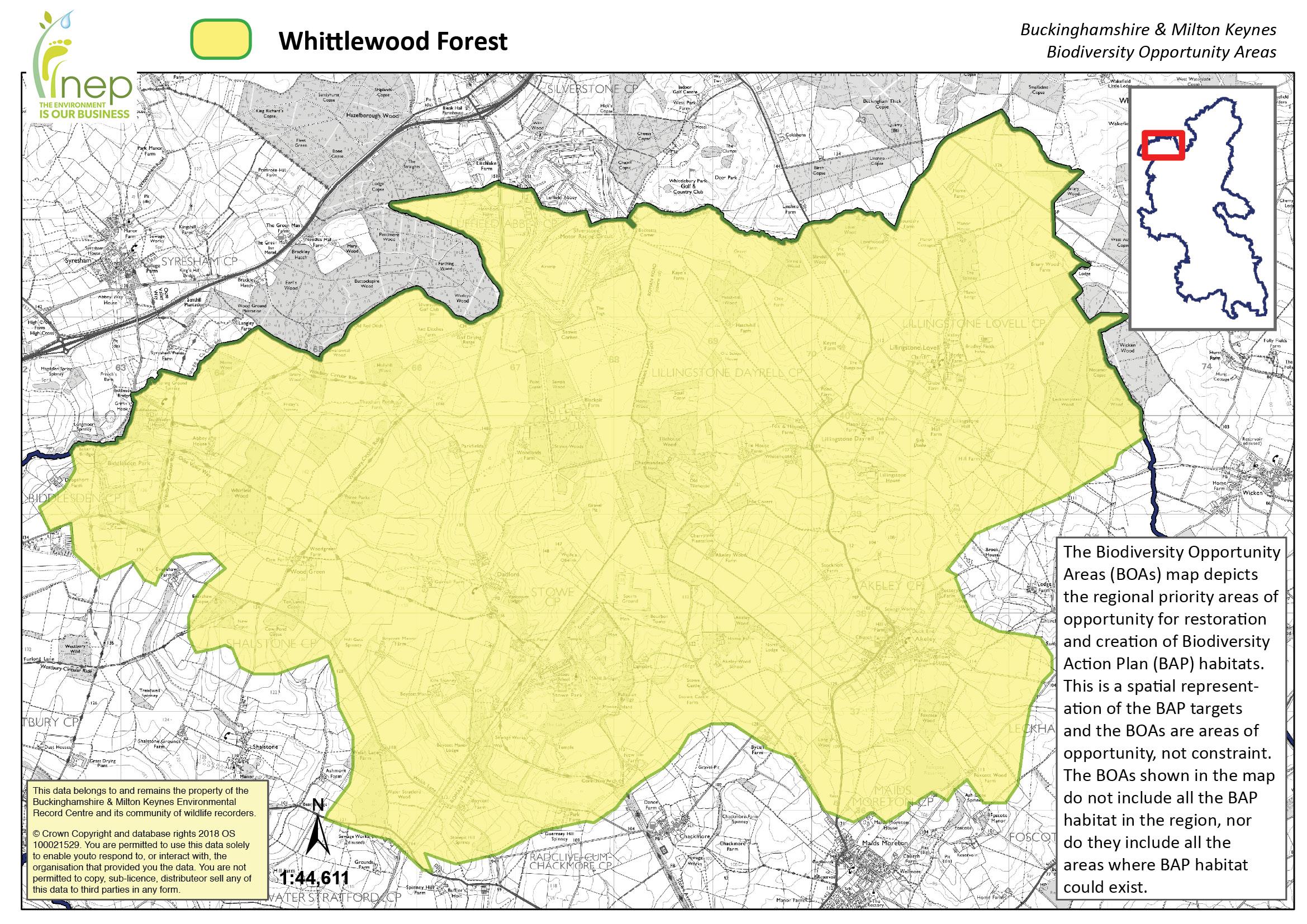 Whittlewood Forest Biodiversity Opportunity Area Buckinghamshire and Milton Keynes Natural Environment Partnership