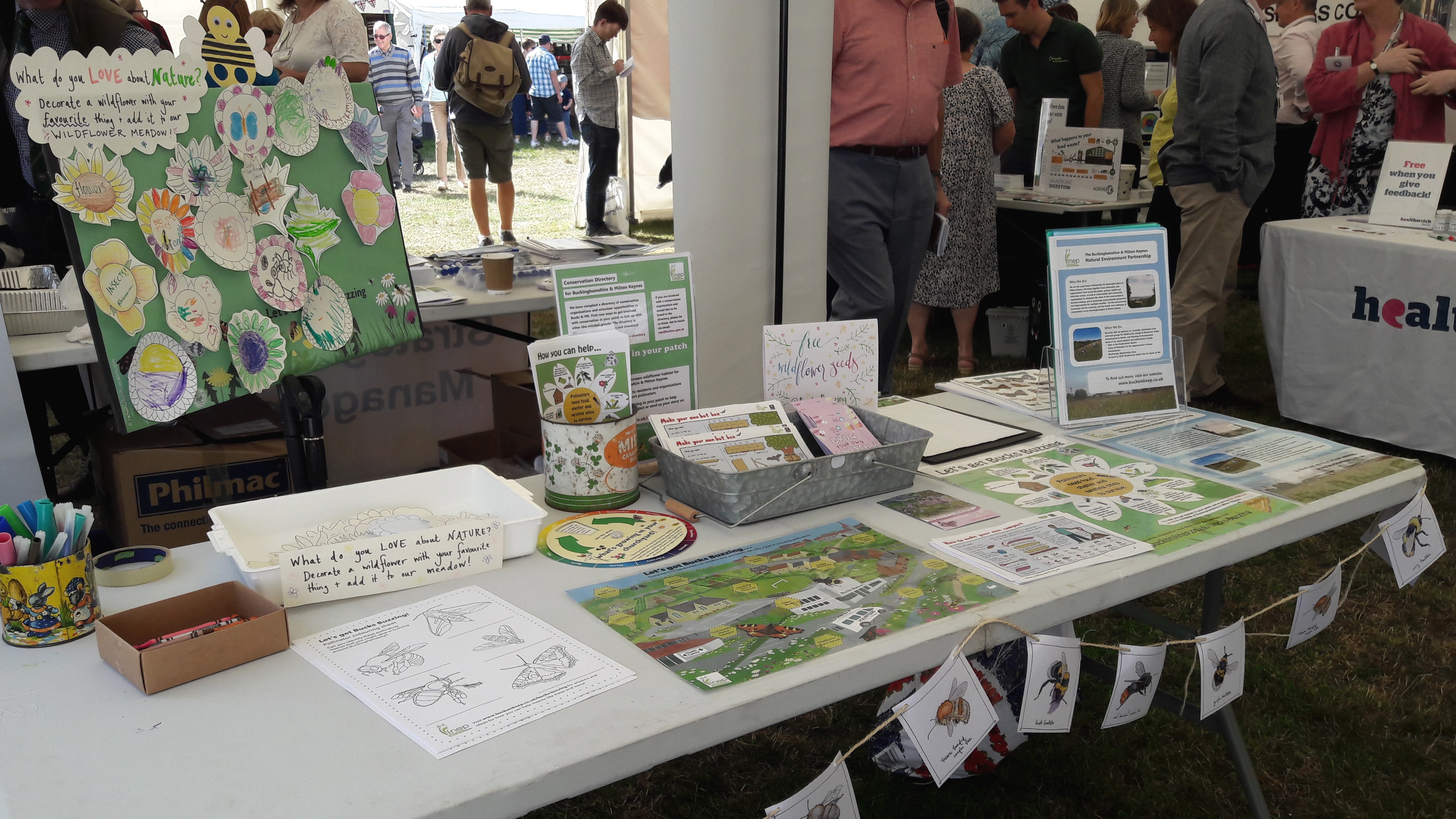 Bucks Buzzing Bucks County Show Stand 2019